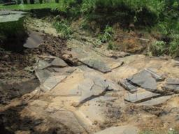 Allegan Dam Road Washout