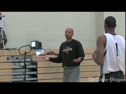 Hornets coach Monty Williams on the first day of training camp