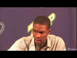 Chris Bosh's comments following the Miami game against the Hornets