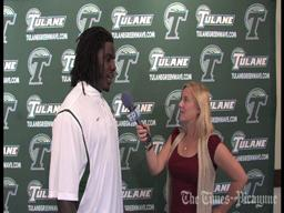 Dezman Moses says Tulane will bounce back this week