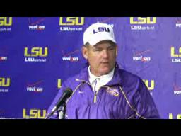 LSU football: Les Miles' McNeese State press conference