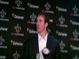 Drew Brees press conference