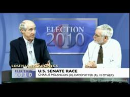 John Maginnis on Vitter-Melancon U.S. Senate race: Election 2010 video