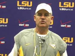 LSU video: Les Miles Wednesday briefing, 10-20-10