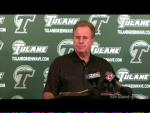 Tulane football coach Bob Toledo's press conference for Oct. 13, 2009
