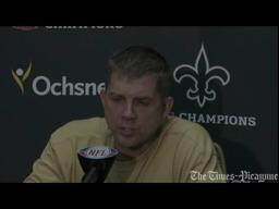 Saints coach Sean Payton says defenses aren't playing them differently