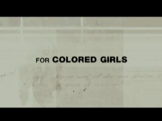 Movie trailer: 'For Colored Girls'