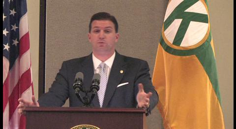 Kenner Mayor Mike Yenni discusses proposed fire, police millages.