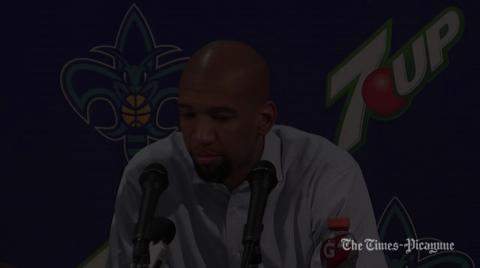 New Orleans Hornets coach Monty Williams says he was outcoached: video