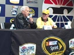 Junior Johnson talks about being selected for NASCAR's Hall of Fame