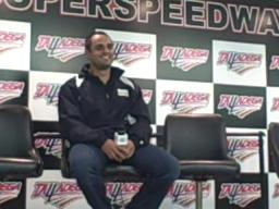 Juan Pablo Montoya talks about Talladega and tacos
