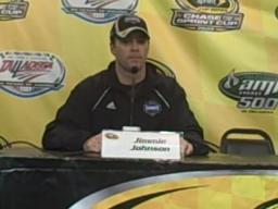 Jimmie Johnson on bump drafting