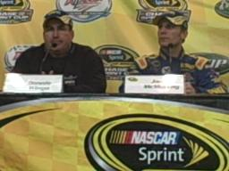 Jamie McMurray talks about his win at Talladega