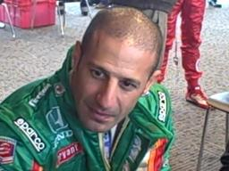 Tony Kanaan at Barber
