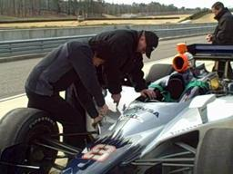 Izod Indycar test day at Barber Motorsports Park