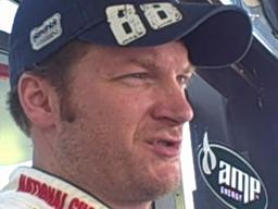 Dale Earnhardt Jr. at Talladega