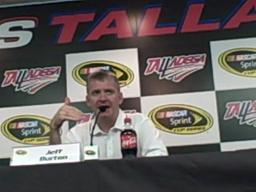 Jeff Burton at Talladega