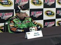 Mark Martin at Talladega