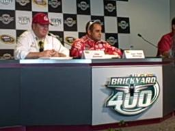 Juan Pablo Montoya wins the Brickyard pole