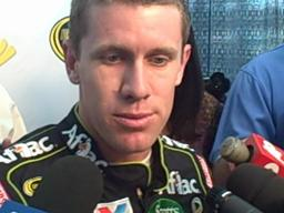 Carl Edwards at Indianapolis