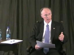 Robert Bentley discusses state budget issues