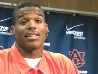 Cam Newton on the attention on him, Auburn