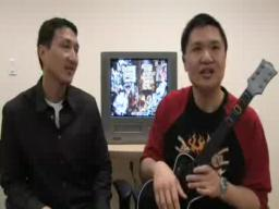 Cofounders of Guitar Hero talk about and demonstrate game