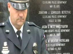 Two fallen police officers remembered