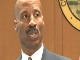 Cuyahoga County Commissioner Peter Lawson Jones news conference