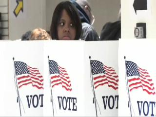 Early voting at Board of Elections