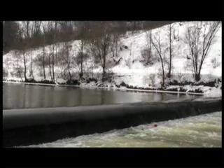 Brecksville dam on Cuyahoga River