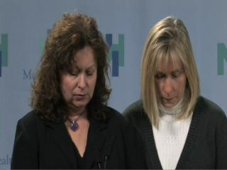 Grieving moms hold press conference