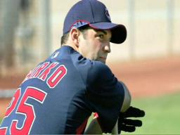 Ryan Garko, becoming more versatile to help the Cleveland India