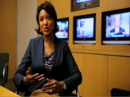 Channel 3's anchor Romona Robinson goes solo on evening news