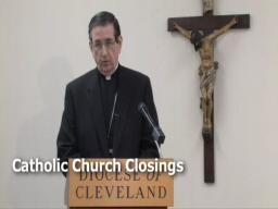 Bishop Richard Lennon makes statement on closings