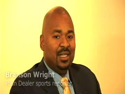 Branson Wright talks with guest Mike Adams of the Browns