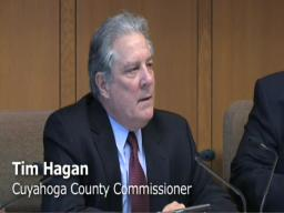 Cuyahoga County Commissioner Tim Hagan criticizes Plain Dealer