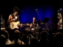 Guitarist Jeff Beck from Live At ronnie scott's