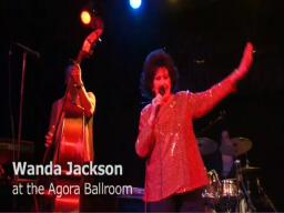 Wanda Jackson at the Agora Ballroom