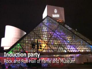 Rock and Roll Hall of Fame induction party