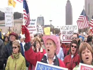 Cleveland anti-tax rally