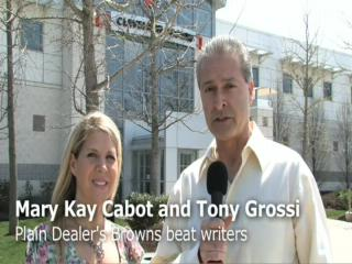 Cleveland Browns draft - Tony and Mary Kay's predictions