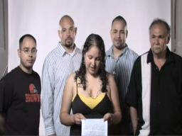 Brenda'lese Nieves-Corchado and her four fathers