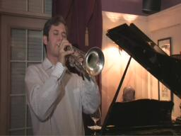 Trumpeter Josh Rzepka