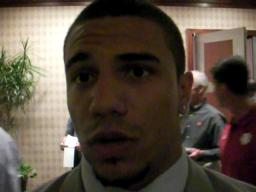 Ohio State's Kurt Coleman at the Big Ten meetings