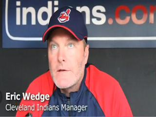 Eric Wedge talks about Trevor Crowe, Andy Marte and Justin Mast