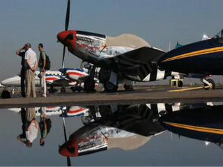 P-51 Mustang at Cleveland National Air Show