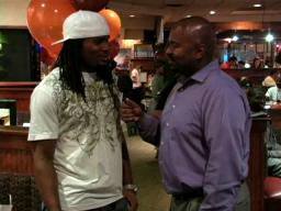 Branson Wright talks to Joshua Cribbs