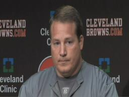 Browns head coach Eric Mangini on Kokinis firing