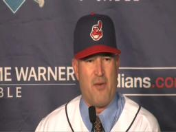 Manny Acta introduced as manager of the Cleveland Indians